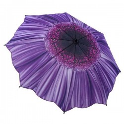 Galleria Umbrella - Purple Daisy