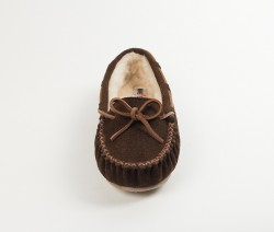 MINNETONKA Cally Slippers - Brown