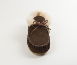 MINNETONKA Chrissy Slippers - Brown