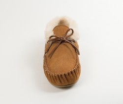 MINNETONKA Chrissy Slippers - Cinnamon