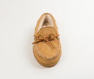 MINNETONKA Mens Slippers - Tan