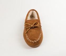 MINNETONKA Mens Slippers - Brown