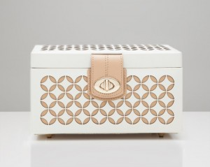 Wolf Designs Chloé Small Jewelry Box - Ivory - Best Seller