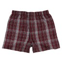 Mens Flannel Boxer #F48MAR - MAROON