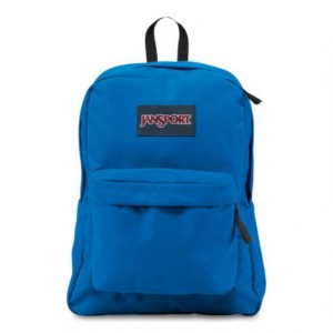 "Jansport ""Superbreak"" Backpack - Stellar Blue"