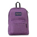 "Jansport ""Superbreak"" Backpack - Urban Optical Purple"