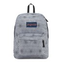 "Jansport ""Superbreak"" Backpack - White Urban Optical"