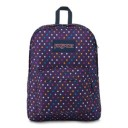 "Jansport ""Superbreak"" Backpack - Purple Spot-O-Rama"