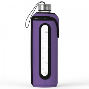 Xtremeglas 32 OZ glass bottle - Violet