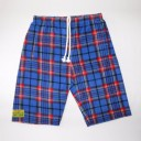 Fuzzy Duds Lewis - Red/Blue Plaid