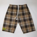 Fuzzy Duds Holt - Brown/White Plaid