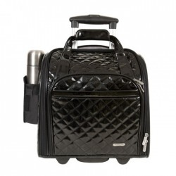 Travelon Wheeled Underseat Carry-On with Back-Up Bag Style #14545 - Black