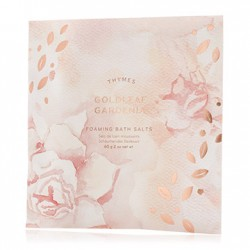 THYMES GOLDLEAF GARDENIA FOAMING BATH ENVELOPE