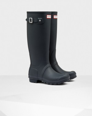 Hunter Women's Original Tall Rain Boots - Navy
