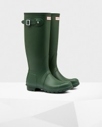 Hunter Women's Original Tall Rain Boots - Hunter Green