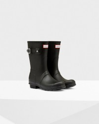 Hunter Women's Original Short Rain Boots - Black
