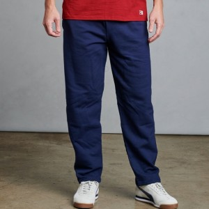 Russell Athletic Men's Dri-Power Open-Bottom Pocket Sweatpants Style #596HBM0 Navy