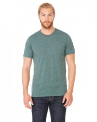 Canvas Short Sleeve Crewneck T-shirt Style #3001C Cotton/Poly Blend - Heather Forest