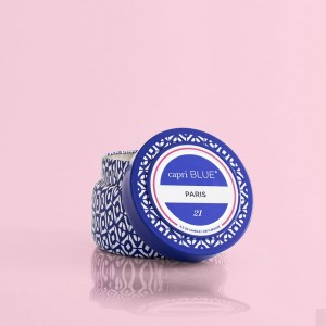 """Capri Blue"" Paris Printed Travel Tin Candle - 8.5 oz"