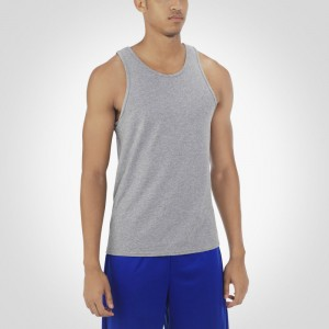 Russell Athletic Men's Essential Tank Style #64TTTM0 - Oxford Grey