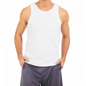 Russell Athletic Men's Essential Tank Style #64TTTM0 - White