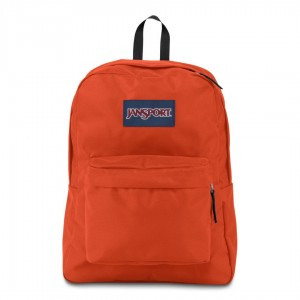 "Jansport ""Superbreak"" Backpack - Cherry Tomato Orange"