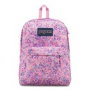 "Jansport ""Superbreak"" Backpack - Pink Sparkle Dot"