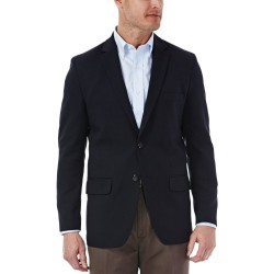 Haggar In Motion Navy Blazer