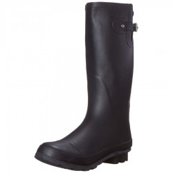 Western Chief Womens Matte Classic Tall Rain Boots Style #8400470 - Black