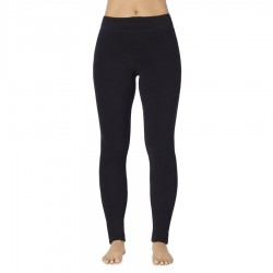 Cuddl Duds Fleecewear with Stretch Legging Style #CD8612065 & #CD8720865 - Black