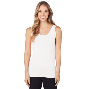 Cuddl Duds Softwear with Stretch Reversible Tank Style #CD8020816 - Ivory