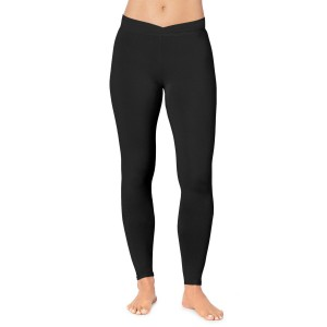 Cuddl Duds Softwear with Stretch Leggings Style #CD8620816 - Black