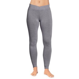 Cuddl Duds Softwear with Stretch Leggings Style #CD8620816 - Charcoal Heather