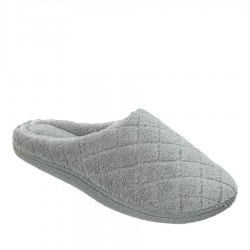 Dearfoams Microfiber Terry Clog Style #51705 - Medium Grey