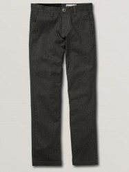 Volcom Boys Frickin Modern Stretch Pant - Charcoal Heather
