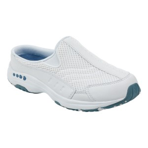 Easy Spirit Womens Travel Time Classic Clogs - White