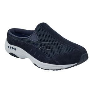 Easy Spirit Womens Travel Time Classic Clogs - Navy