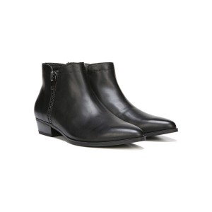 Naturalizer Leather Ankle Boot Style Blair - Black