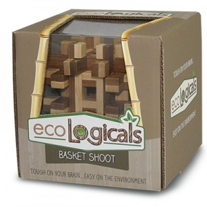 Project Genius Excological Wood Puzzle - Basket Shoot