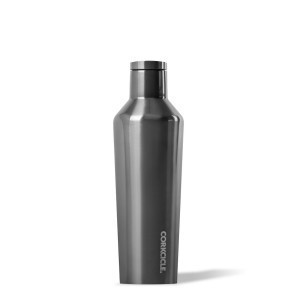 Corkcicle 16 oz canteen - Metallic Gunmetal