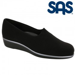 SAS Leather Slip-On Shoe Bliss Style #2750 - Black