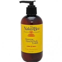 The Naked Bee Orange Blossom Honey Hand and Body Lotion Pump - 8 oz.
