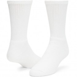 Wigwam King Cotton Crew Socks Style #F1055 - White