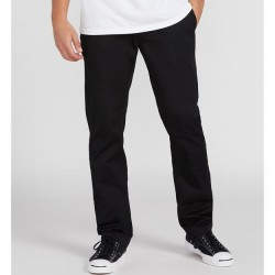 Volcom Mens Frickin Modern Stretch Chino Pants - Black