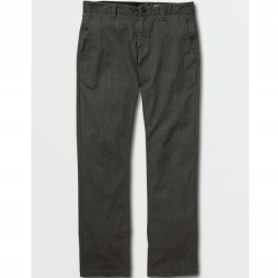 Volcom Mens Frickin Modern Stretch Chino Pants - Charcoal Heather