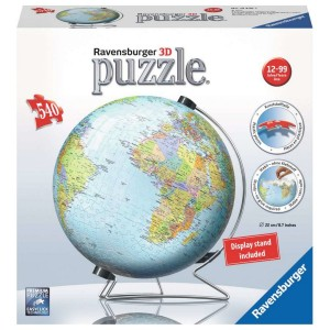 3D Puzzle - 540 pc World Globe