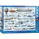Eurographics 1000 pc Puzzle History of Aviation