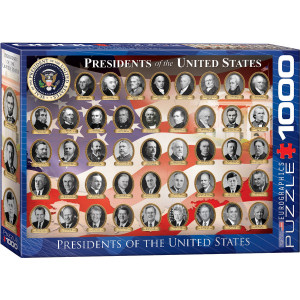 Eurographics 1000 pc Puzzle Presidents of The United States