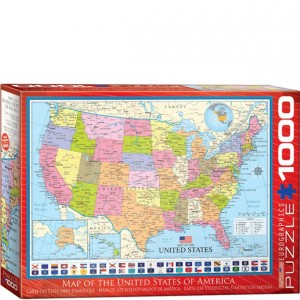 Eurographics 1000 pc Puzzle United States