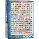 Eurographics 1000 pc Puzzle Flags of The  World